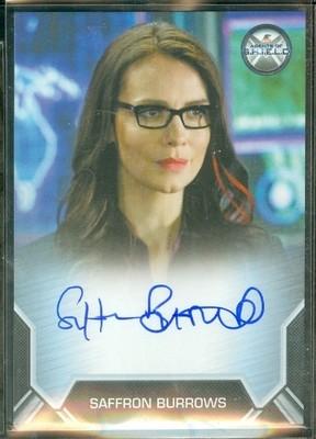 Saffron Burrows as Agent Victoria Hand Autograph Card Bordered