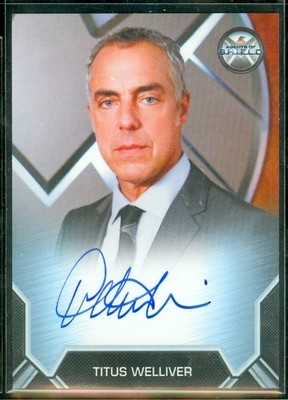 Titus Welliver as Agent Felix Blake Autograph Card Bordered