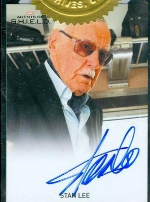 Stan Lee 6 Case Incentive Autograph Card