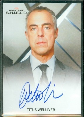Titus Welliver as Agent Felix Blake Autograph Card Full Bleed
