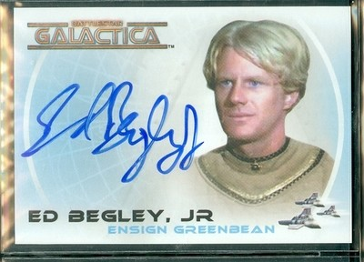 ( A 20 ) Ed Begley Jr Autograph Card [ BGCW ]