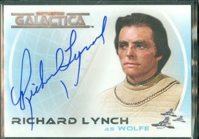 ( A 24 ) Richard Lynch Autograph Card [ BGCW ]
