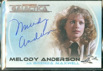 ( A 25 ) Melody Anderson Autograph Card [ BGCW ]
