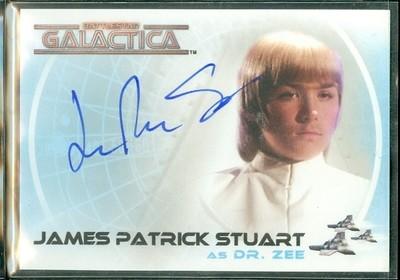 ( A 26 ) James Patrick Stuart Autograph Card [ BGCW ]