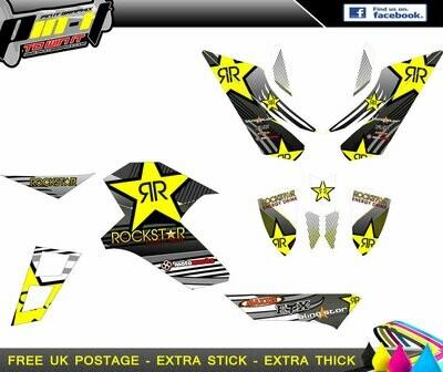 APACHE RLX 400 / 450 STICKER KIT STICKER KIT