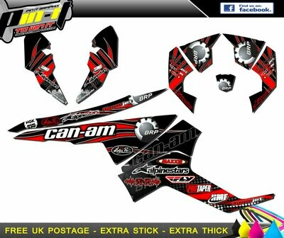 CAN-AM RENEGADE 500 / 800R / 800X / 1000 STICKER KIT