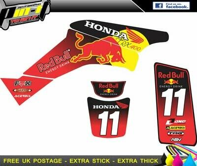 HONDA TRX400 / EX400  STICKER KIT 1999-2007