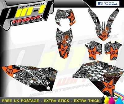 KTM SX Series 07-10 All 08-10 (11)  STICKER KIT