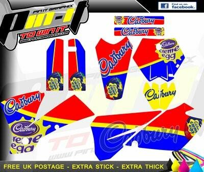 KTM SX Series 2003-2004  STICKER KIT