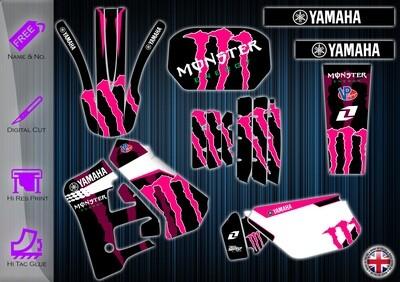 YAMAHA DTR125 STICKER  1991-2003