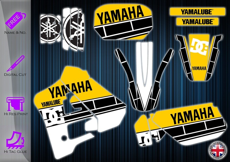 yamaha dtr125 sticker  1991-2003