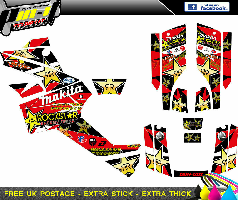 can-am outlander 400 - 800   06-11  sticker kit