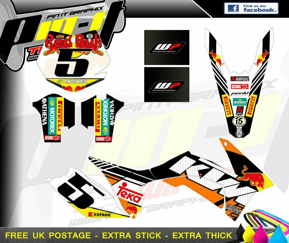 ktm sx series 2011-2012 xcw-2013  sticker kit