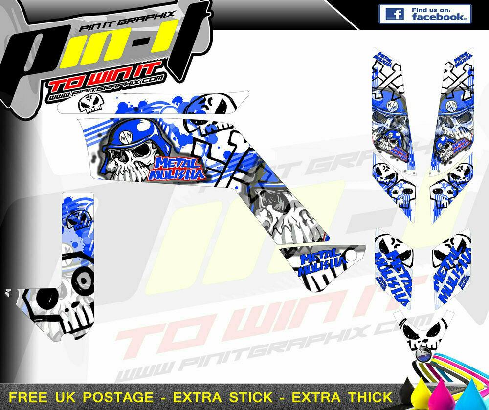 quadzilla xlc300 stinger sticker kit sticker kit