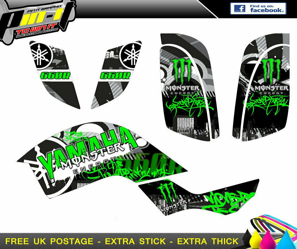 raptor 660r sticker kit