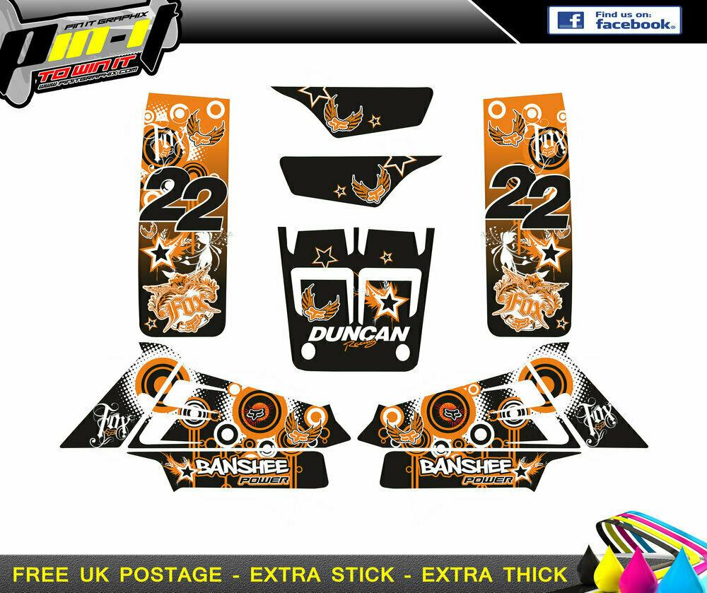 yamaha banshee 350 sticker kit