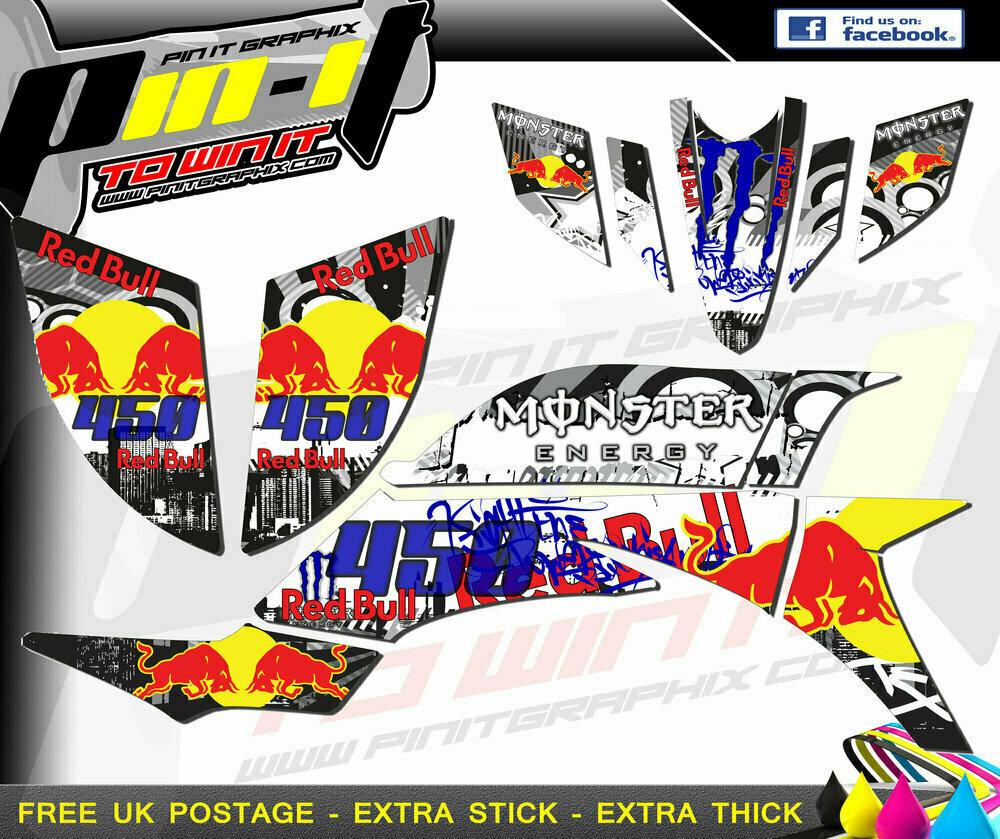 yamaha yfz450 sticker kit 2003-2008 (carb)