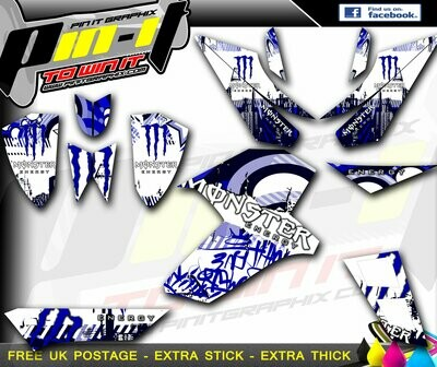 apache rlx 250 / 400 / 450 sticker kit sticker kit