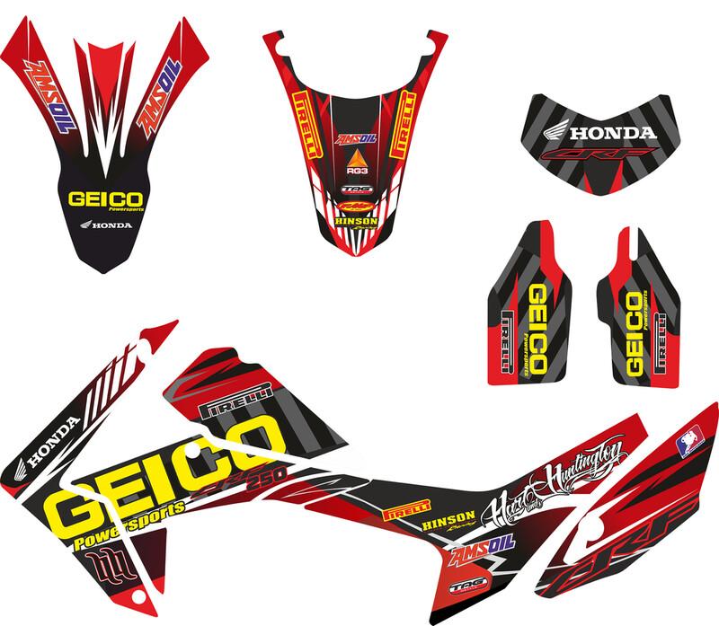 honda crf250l sticker kit