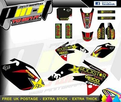 honda crf150r 07-15   sticker kit