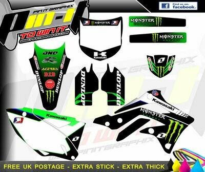 kxf 250 2013-2015 sticker kit