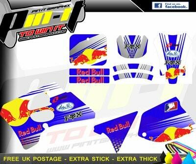 suzuki rm 125 / 250 1995 sticker kit