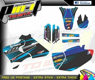 yamaha yzf250-400-426 98-02   sticker kit