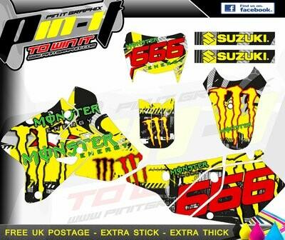 suzuki drz400 sticker kit