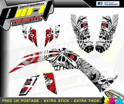 quadzilla 450 sport / dinli 450 sticker kit sticker kit