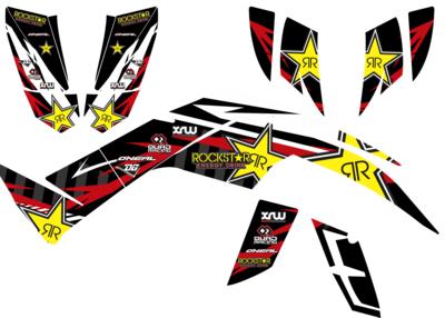 quadzilla 450 sport / dinli 450 sticker kit