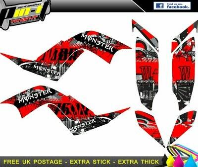 raptor 700 sticker kit