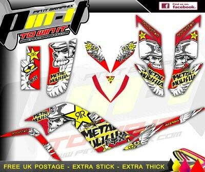 yamaha raptor 700 (yfm700) sticker kit sticker kit