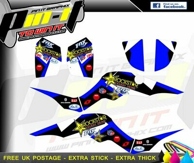 quadzilla proshark sticker kit