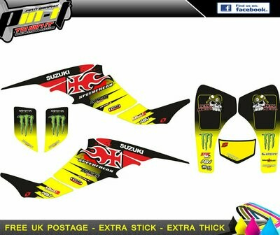 suzuki ltz400 sticker kit