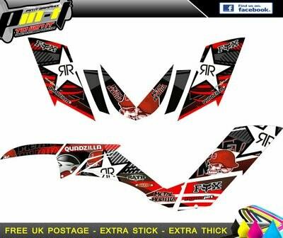 quadzilla 320 / 500 xlc sticker kit