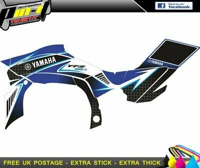 yamaha yfz450r sticker kit