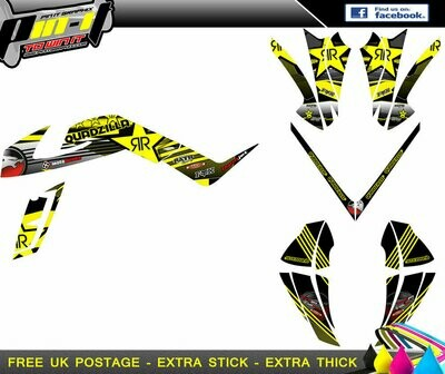 quadzilla 450 rs  sticker kit sticker kit