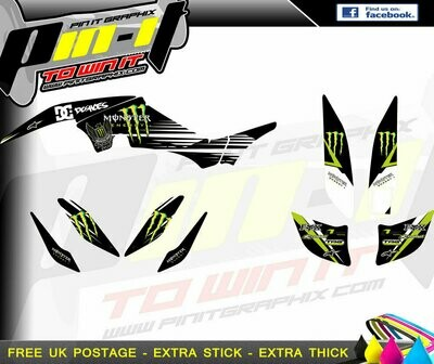 yamaha raptor 350 sticker kit
