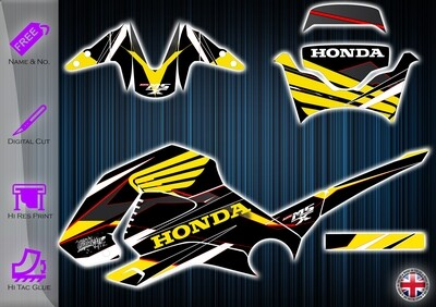 Honda MSX / Grom OG Sticker kit