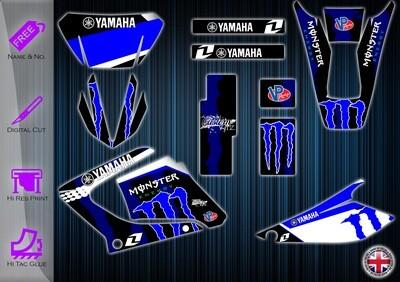 yamaha dt125re (yamaha dtr125x) stickers  2003-2020