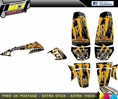 polaris predator sticker kit