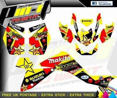 suzuki ltz400 fi sticker kit 2009 -2015