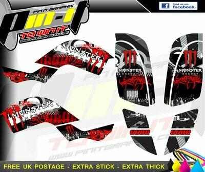 yamaha raptor 660r  sticker kit sticker kit