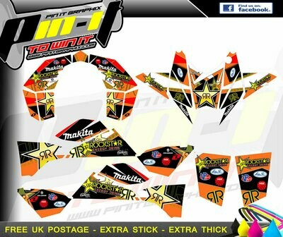 ktm 450 505 525 sticker kit