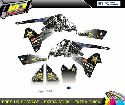 suzuki ltr450 sticker kit