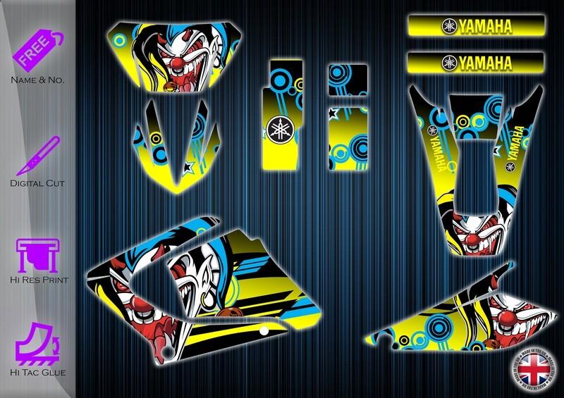 yamaha dt125-re (dtr125x) sticker  2003-2020