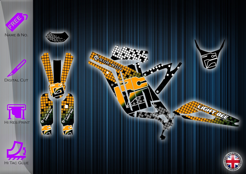 Sur-Ron Light Bee Graphics kit Surron Decals sur ron