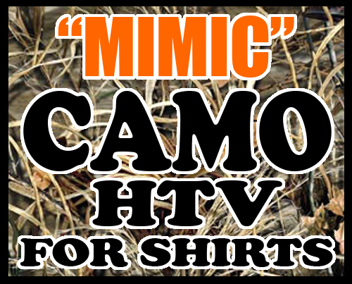 """CAMO CORNER~ HTV VINYL  12""""x24"""""""