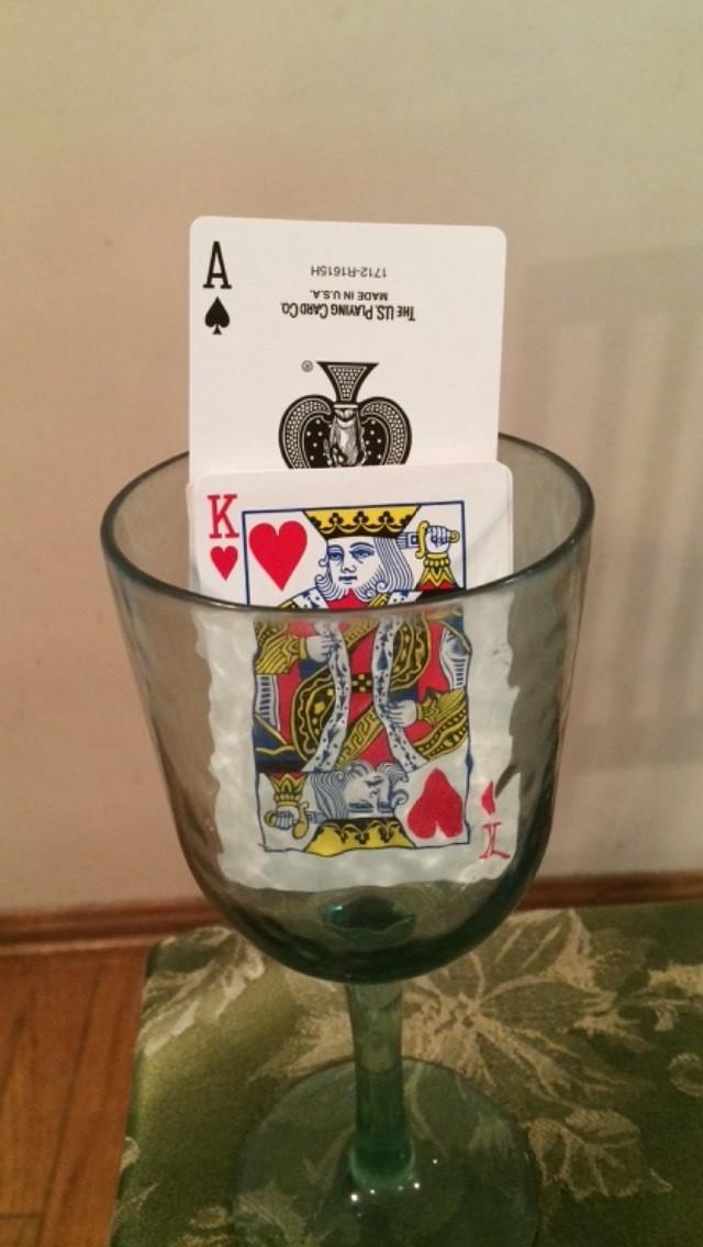 Rising Card Illusion
