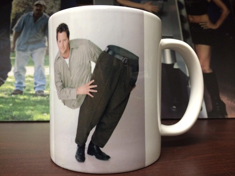Split Man Coffee Mug